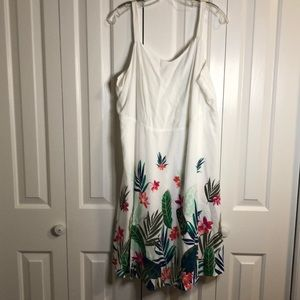 Old navy white summer sundress size 2X pretty